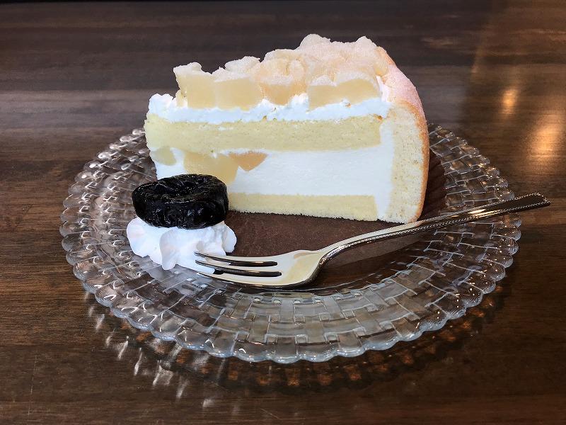 ケーキ ¥400