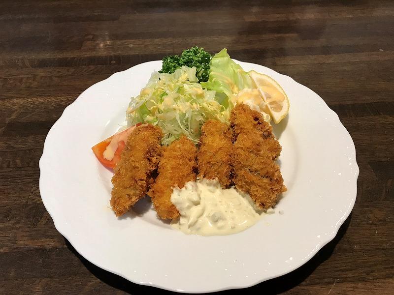 牡蠣フライ ¥1000